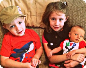 three kids edit